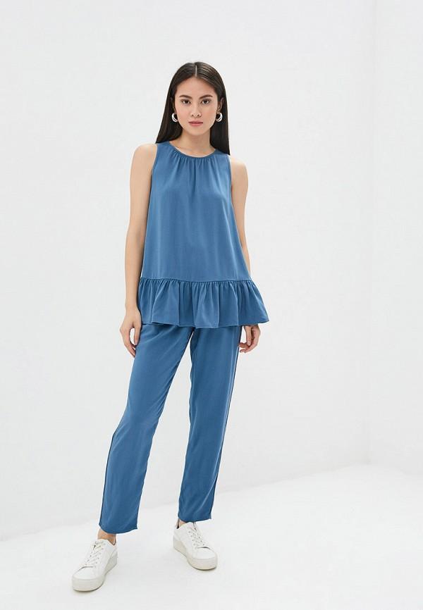 Блуза Ruxara цвет синий  Фото 2