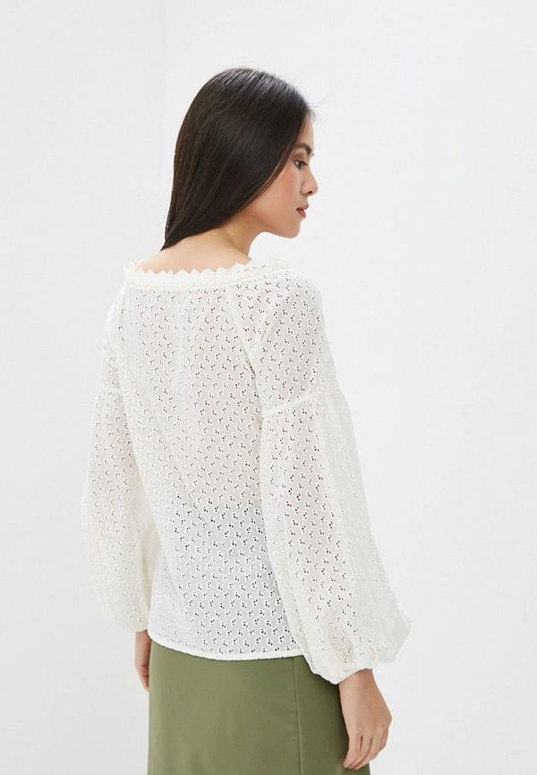 Блуза Ruxara цвет белый  Фото 3