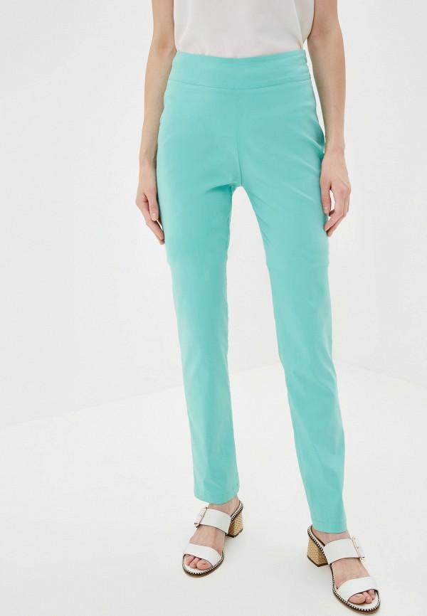 женские брюки космея, бирюзовые