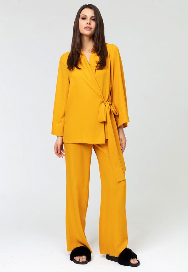 женский костюм lezzarine, оранжевый