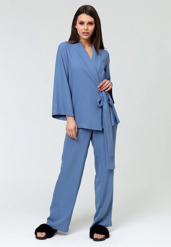 женский костюм lezzarine, голубой