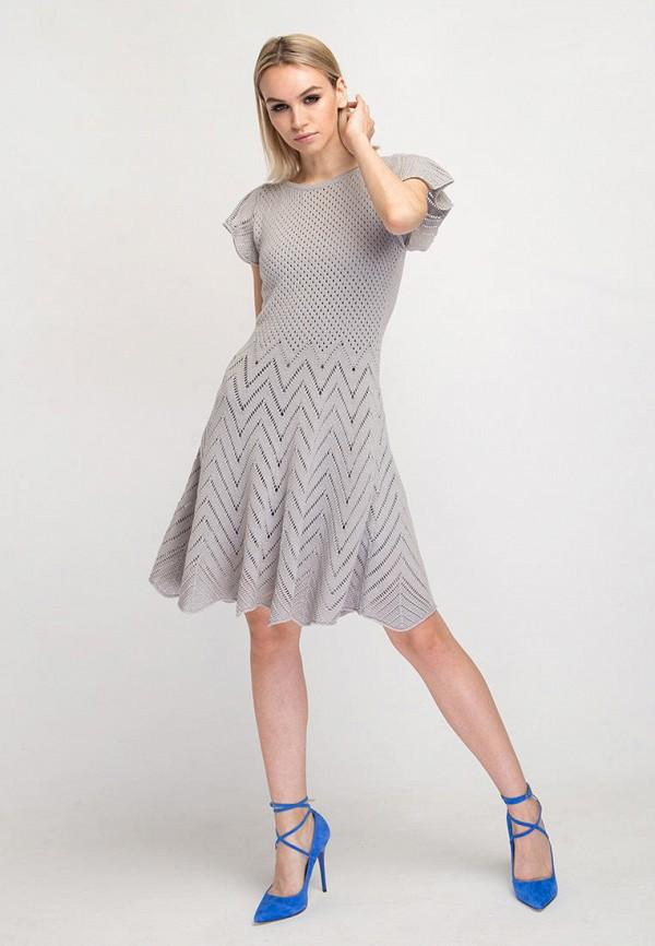 Платье Fors цвет серый  Фото 2