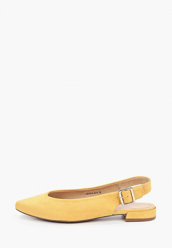 женские туфли lolli l polli, желтые