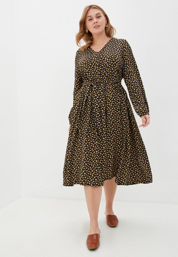 женское повседневные платье w&b, черное