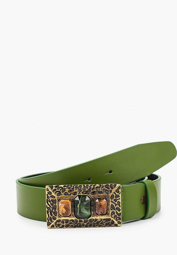 женский ремень olio rosti, зеленый