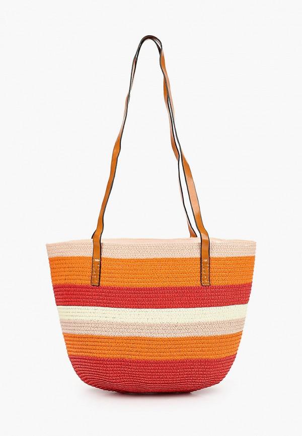 женская пляжные сумка katomi, разноцветная