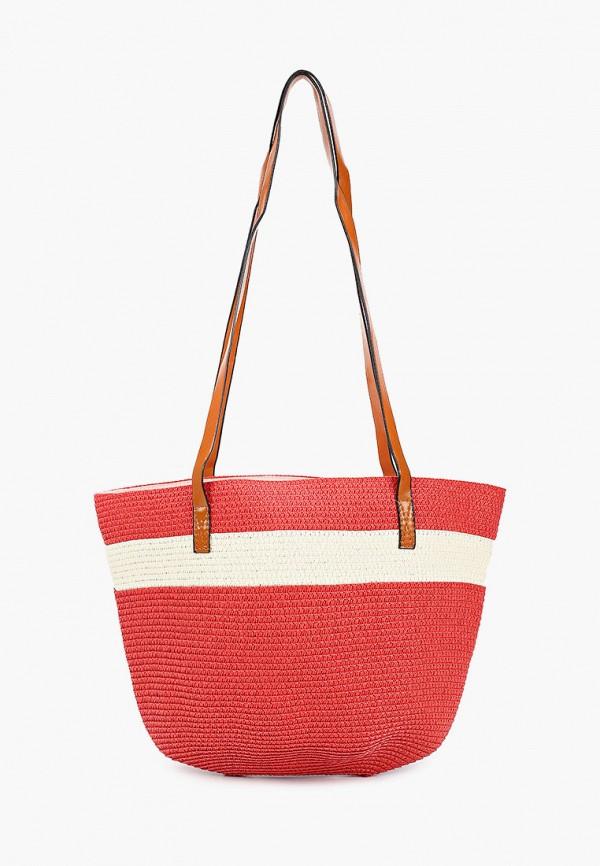 женская пляжные сумка katomi, красная