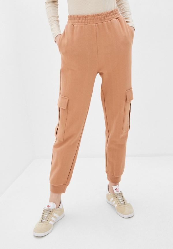 женские спортивные брюки befree, бежевые
