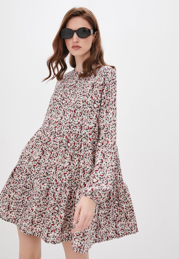 женское повседневные платье befree, разноцветное