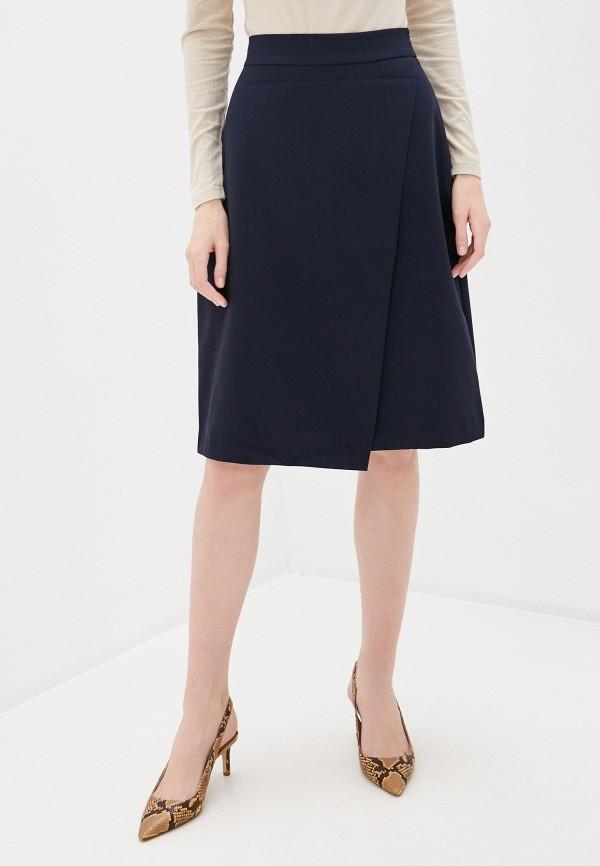 женская юбка-трапеции befree, синяя