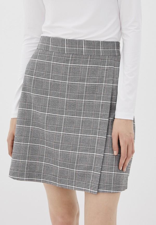 женская прямые юбка befree, серая