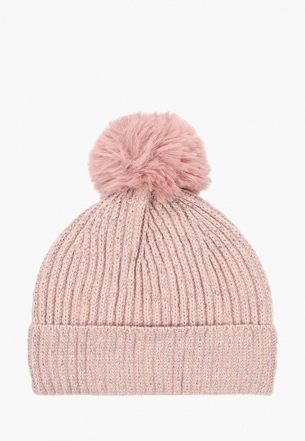 женская шапка keddo, розовая