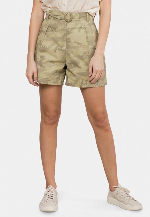 женские повседневные шорты mr520, хаки