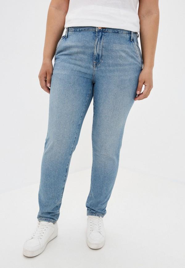 женские джинсы скинни colin's, голубые