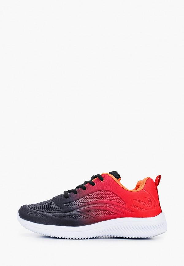 женские низкие кроссовки nobbaro, красные