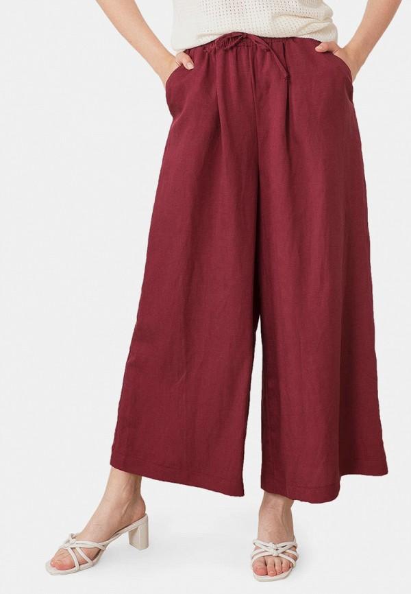 женские повседневные брюки mr520, бордовые