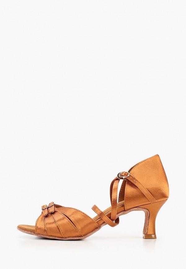 женские туфли dance house, коричневые
