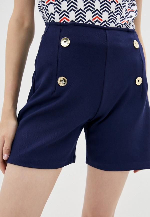 женские повседневные шорты u.s. polo assn, синие