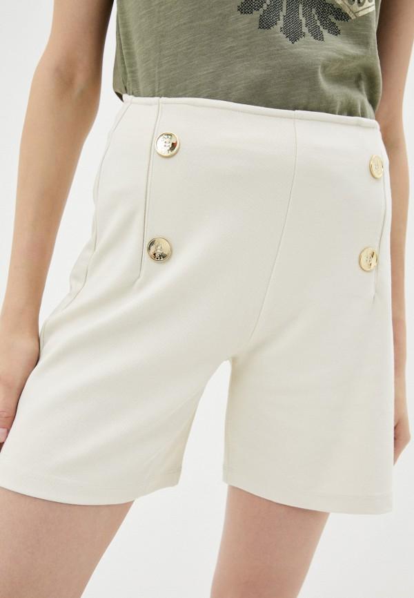 женские повседневные шорты u.s. polo assn, бежевые