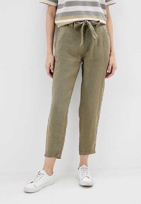 женские повседневные брюки u.s. polo assn, хаки