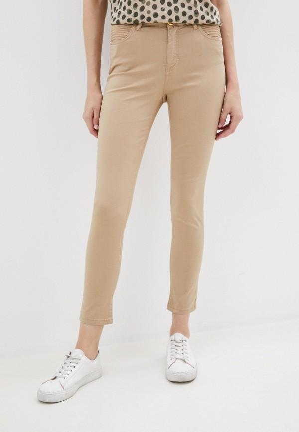 женские повседневные брюки u.s. polo assn, бежевые
