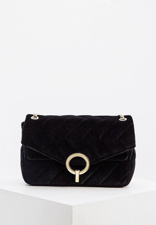 женская сумка sandro, черная