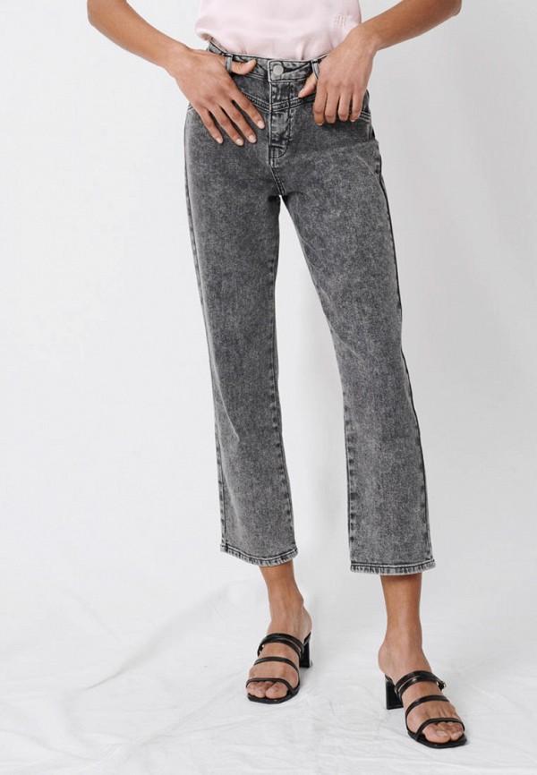 женские прямые джинсы maje, серые