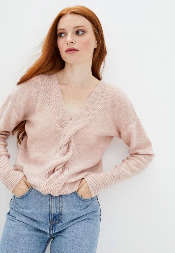 женский пуловер sewel, розовый