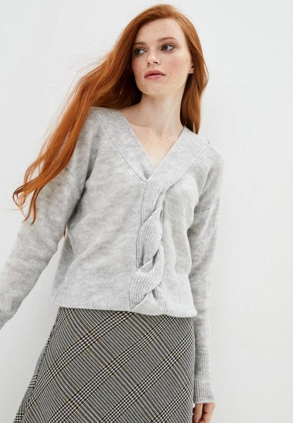 женский пуловер sewel, серый
