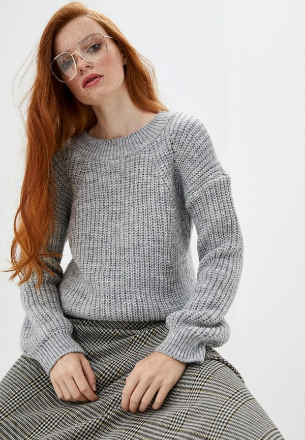 женский джемпер sewel, серый