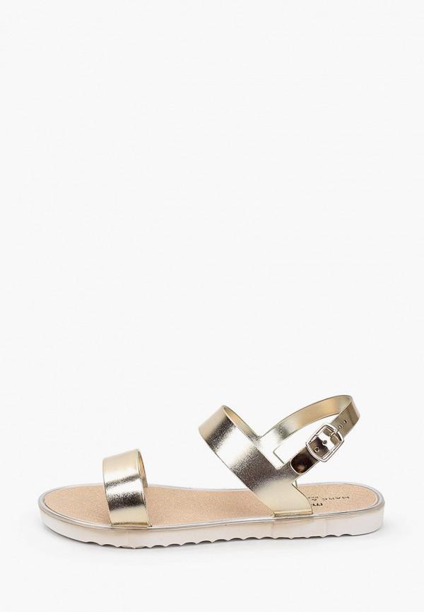 женские сандалии marc&andre, золотые