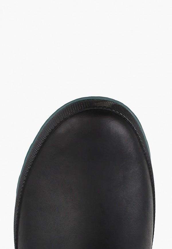 Фото 4 - Резиновые сапоги Regatta черного цвета