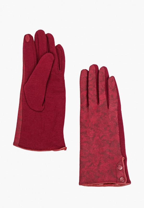 женские текстильные перчатки flioraj, бордовые