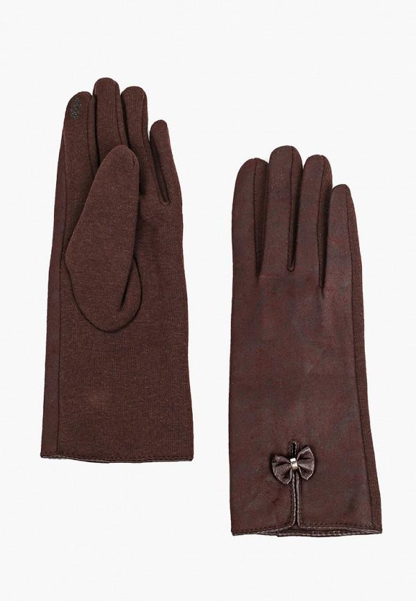 женские текстильные перчатки flioraj, коричневые