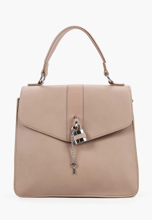 женская сумка через плечо keddo, коричневая
