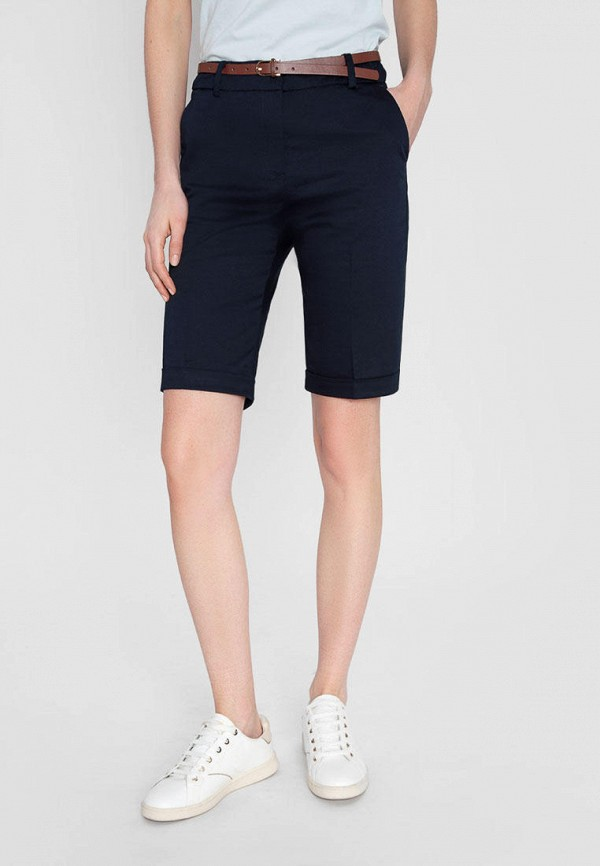 женские повседневные шорты o'stin, синие