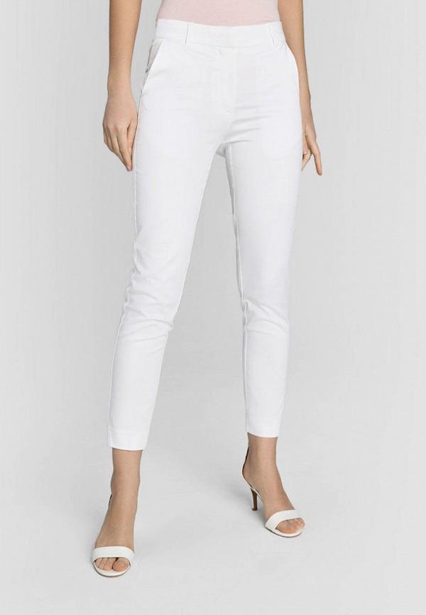 женские повседневные брюки o'stin, белые