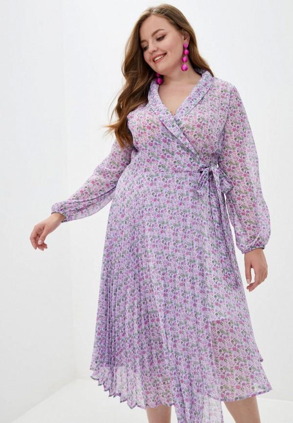 женское платье jhiva, фиолетовое
