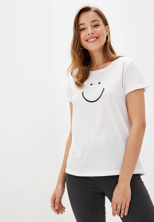 женская футболка top secret, белая