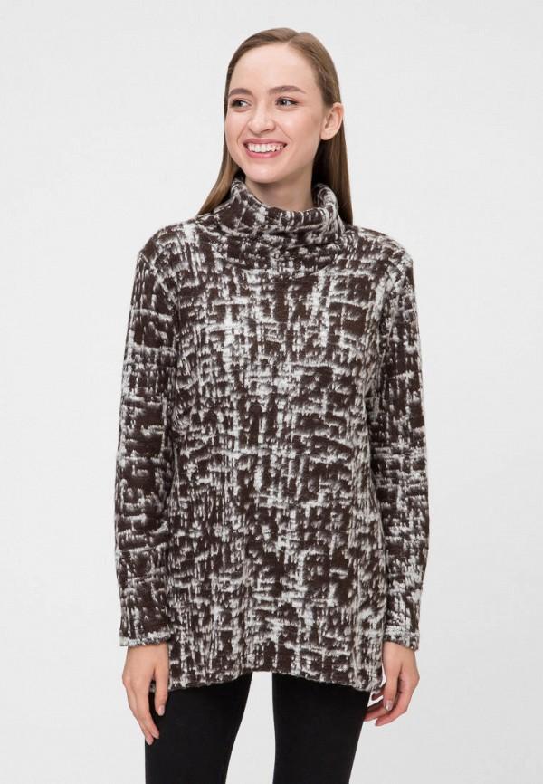 женский свитер vergans, коричневый