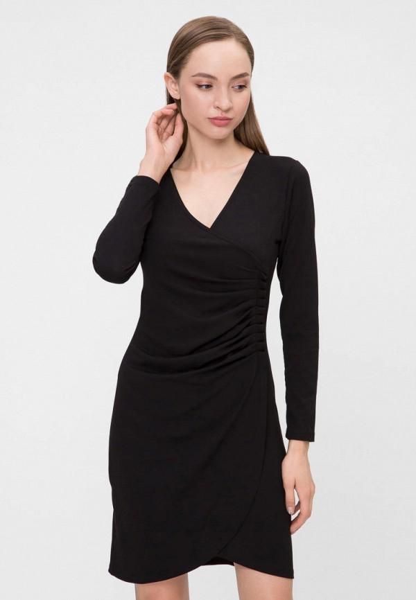 женское платье vergans, черное