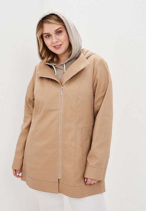 женская куртка wiko, бежевая