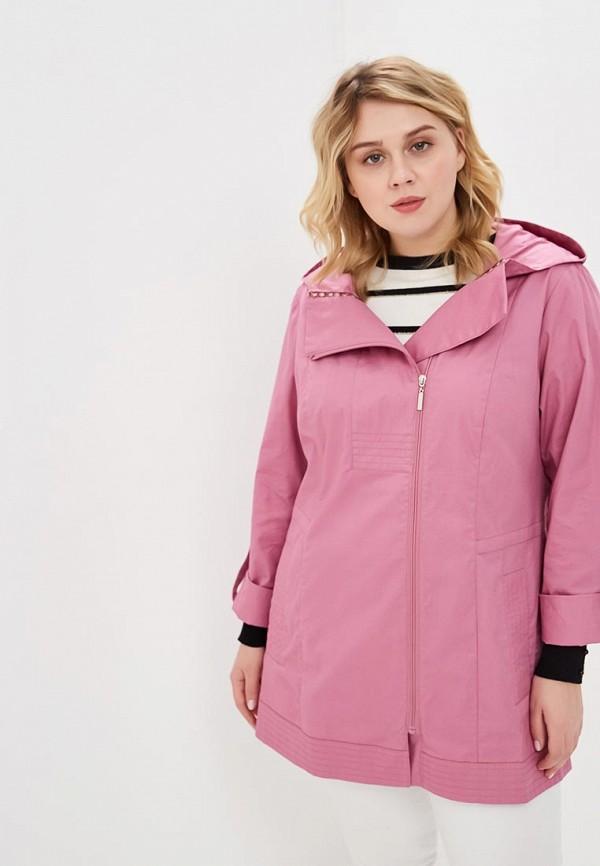 женская куртка wiko, розовая