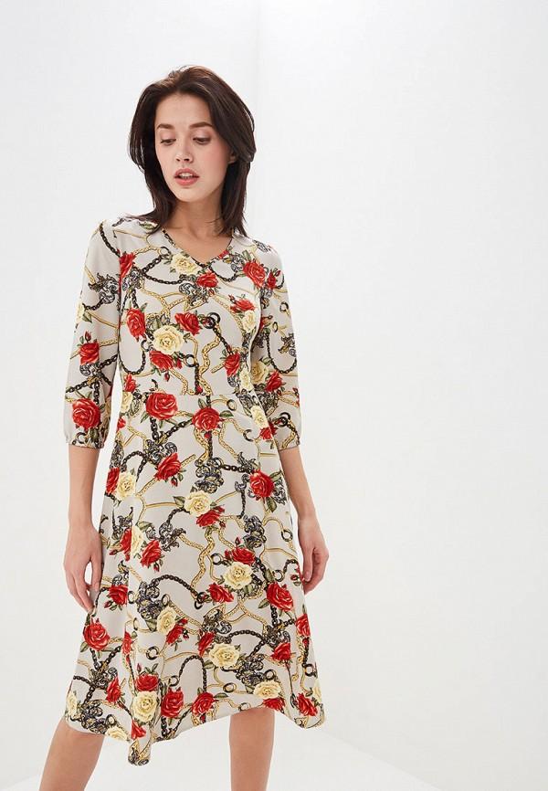 женское повседневные платье shovsvaro, серое