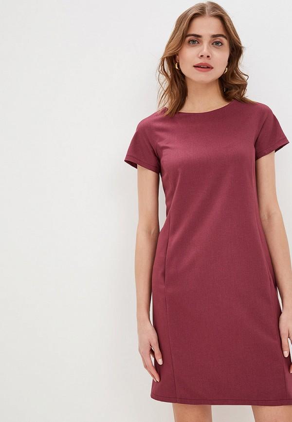 женское платье-футляр gregory, бордовое