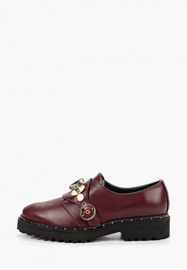 женские туфли hestrend, бордовые
