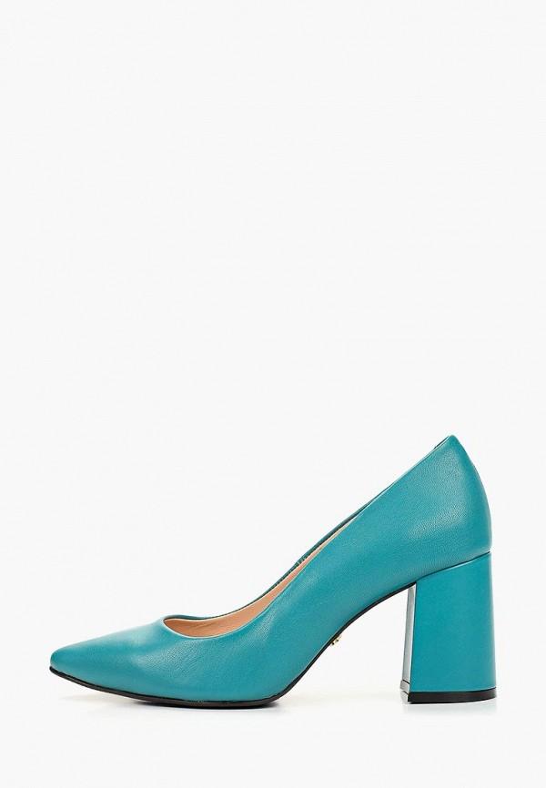 женские туфли hestrend, бирюзовые