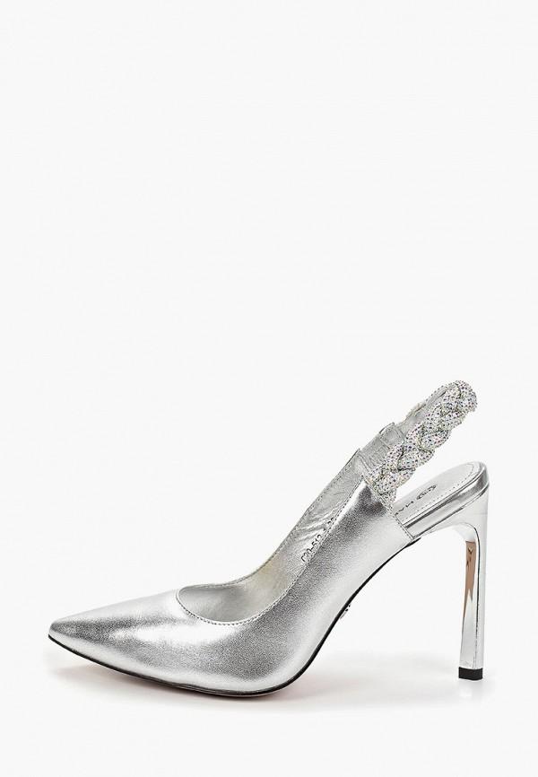 женские туфли marco bonne', серебряные