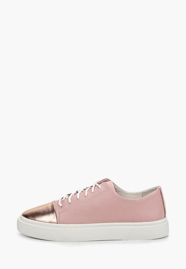 женские кеды marie collet, розовые