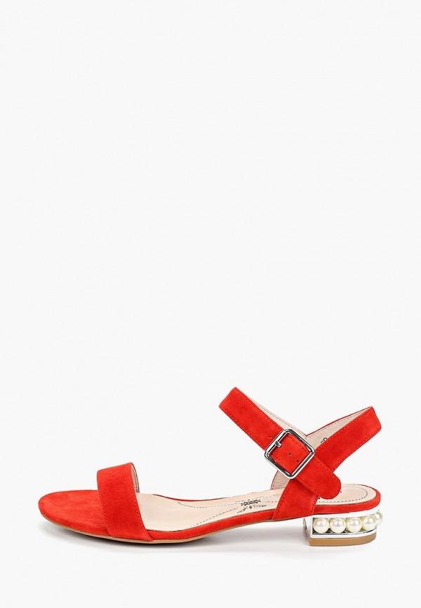 женские сандалии pierre cardin, красные